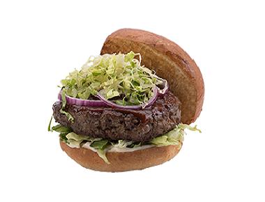 מוזס ארט בורגר 250 גר', בקר וטלה, אייסברג, בצל סגול ומטבל פלפלים. 100% בשר בקר טרי (משקל לפני צלייה), מוצרינו עלולים/ מכילים אלרגנים שונים.