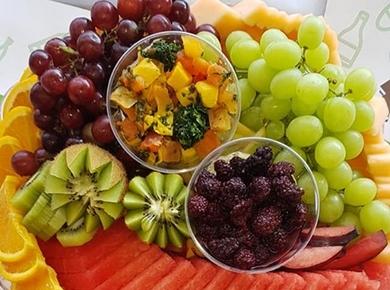 טרי בריא הרצליה פיתוח - מגשי אירוח