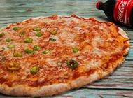 פיצה ענקית + 2 תוספות + קולה 1.5 ליטר