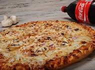 מגש XL ענק + תוספת / שתייה פיצה אדסו יבנה