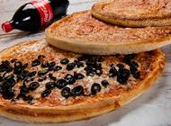 3 פיצות משפחתיות + קולה 1.5 ליטר פיצה מאנצ' עפולה