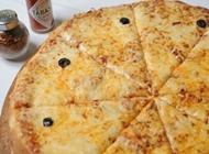 פיצה משפחתית - 8 משולשים פיצה פדאל חיפה