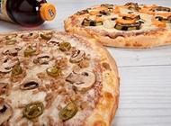 2 פיצות L משפחתיות  + תוספת לכל מגש + שתייה 1.5 ליטר פיצה טורינו קרית ביאליק