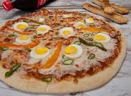 פיצה ענקית + תוספת + שתייה 1.5 ליטר פיצה פורטובלו בת ים