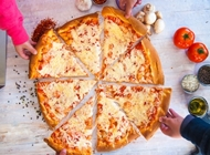פיצה משפחתית L רגילה פיצה פושקה ירושלים סניף קרית יובל
