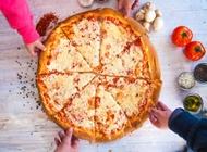 פיצה משפחתית XL ענקית פיצה פושקה ירושלים סניף קרית יובל