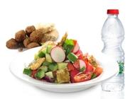 ארוחת בריאות פלאפל בריבוע מיקדו
