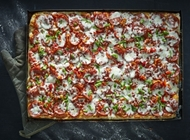 Hot Pepperoni Pizza Tony Vespa TLV