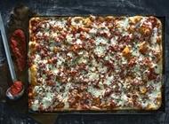 Bacon Pizza Tony Vespa TLV