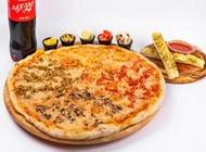 פיצה ענקית XL + בקבוק משפחתי ורוטב שום פיצה סטאר פתח תקווה