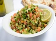 סלט ירקות קטן שיפודי רמת גן