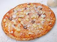 פיצה אננס גדולה