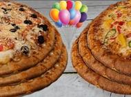 מבצע יום הולדת - 6 פיצות משפחתיות פיצה בריבוע פתח תקווה מרכז