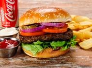 עסקית המבורגר בקר 250 גרם מייק בורגר ראשון לציון גן העיר