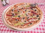 פיצה זוגית אקסטרה דקה בלה פיצה נשר