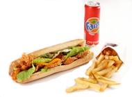 ארוחת בגט צרפתי השניצליה הרצליה פיתוח
