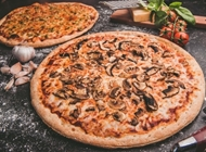 משפחתיות 100% מוצרלה + תוספת ב-49.9 ₪ למגש בקניית 2 פרגו פיצה אשקלון