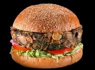 עסקית המבורגר פטריות ותרד בלאק בורגר פתח תקווה