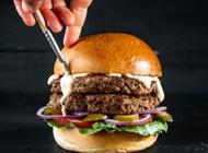 ארוחת המבורגר 110 גרם קפטן בורגר רעות