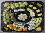 מגש סושי צמחוני מפואר אוקינאווה לבונטין