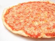 פיצה מרגריטה אישית S ללא תוספות פיצה עגבניה שינקין תל אביב