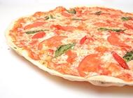 פיצה מרגריטה אישית S עם תוספות פיצה עגבניה שינקין תל אביב