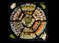 מגש דגים ופירות ים גדול – 116 יחידות סושי בר בזל רמת השרון