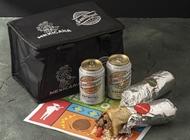 2 בוריטוס לבחירה + 2 פחיות סאן מיגל + צידנית מתנה מקסיקנה גריל מודיעין - כשר