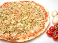 פיצה מרגריטה ירוקה XL פיצה עגבניה דרך חברון בית הנציב