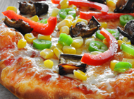 מגש ענק אמריקן פיצה רעננה