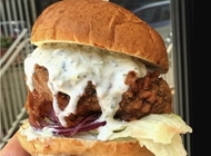 מספר 5 - המבורגר צמחוני בורגר רום ירושלים