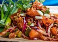 Yum Salmon Salad Bangkok Kitchen
