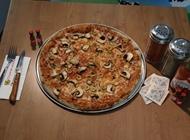 פיצה ענקית + תוספת + נלווה צ'יז פיצה גן הצפון
