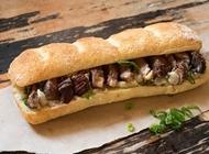 עסקית כריך סטייק אנטריקוט מחדר היישון מסעדת הבשר NG נווה צדק תל אביב