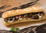 עסקית כריך סטייק סינטה מחדר היישון שלנו מסעדת הבשר NG נווה צדק תל אביב