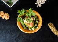 סלט ירקות קצוץ J17 הטבעונית תל אביב