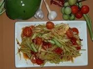 סלט פאפאיה המטבח של מיי ראשון לציון