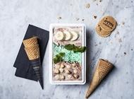 """גלידה במשקל חצי ק""""ג גולדה עזריאלי ת""""א"""
