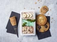 מארז חצי קילו גלידה+ 2 עוגיות נייט קוקי גולדה רחובות פארק המדע